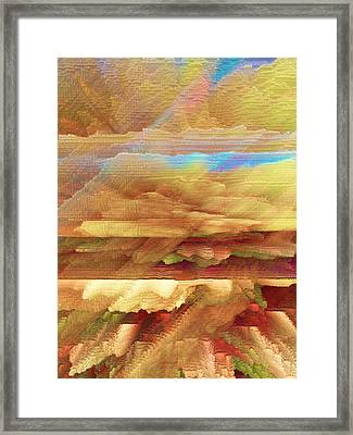 Desert Rain Framed Print by James MacColl