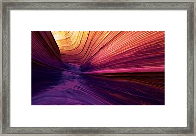Desert Rainbow Framed Print by Chad Dutson
