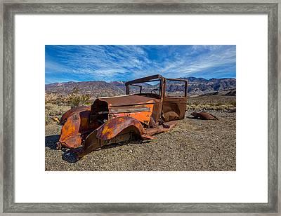 Desert Relic Framed Print by Peter Tellone