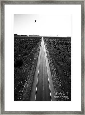 Desert Road Framed Print by Scott Pellegrin