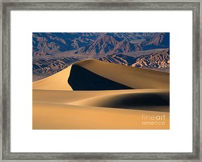 Desert Sand Framed Print