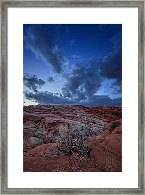 Desert Sky Framed Print by Rick Berk