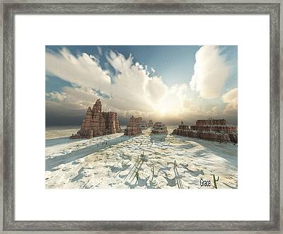 Desert Splendor Framed Print by Julie Grace