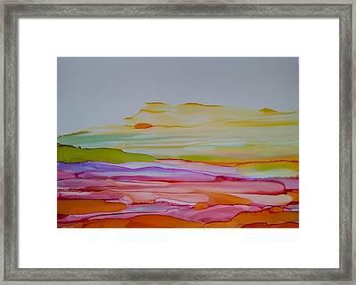 Desert Steppe Framed Print