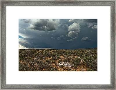 Desert Storm 2 Framed Print
