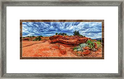 Desert Storm Framed Print by ABeautifulSky Photography