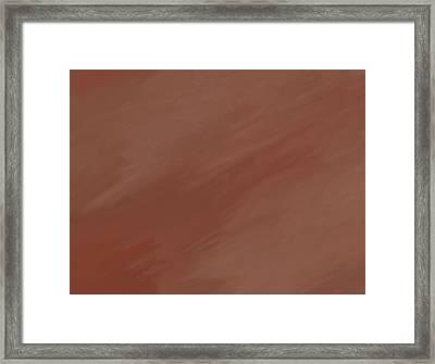 Desert Storm Framed Print by Dan Sproul