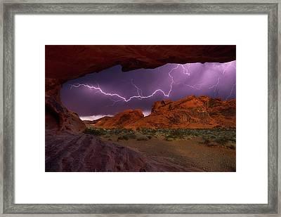 Desert Storm Framed Print by Darren White