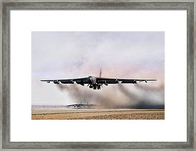 Desert Storm Delivery Framed Print by Peter Chilelli