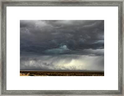 Desert Storm Framed Print by Farol Tomson