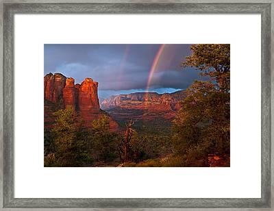 Desert Storm Framed Print by Guy Schmickle