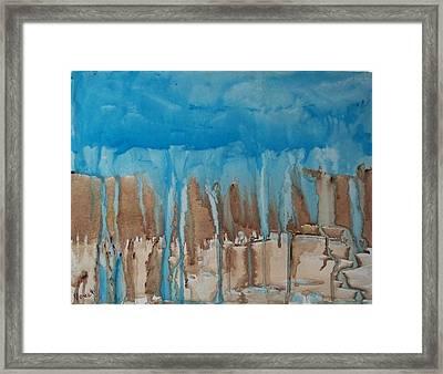 Desert Storm Framed Print by Larry Verch