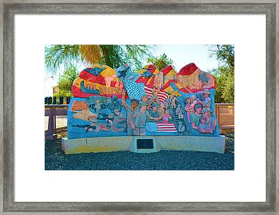 Desert Storm Memorial Framed Print by Richard Jenkins