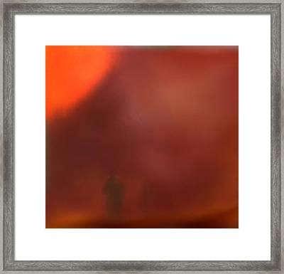 Desert Storm Framed Print by Robert Matson
