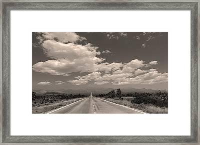 Desert Stretch Framed Print