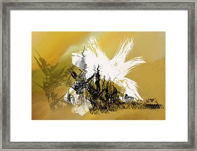Desert Storm Framed Print by Art Spectrum