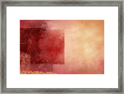 Desert Sunset Framed Print by Christopher Gaston