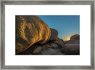 Desert Sunset Framed Print by Joseph Smith