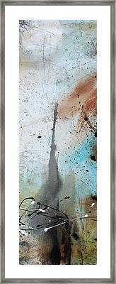 Desert Surroundings 3 By Madart Framed Print by Megan Duncanson