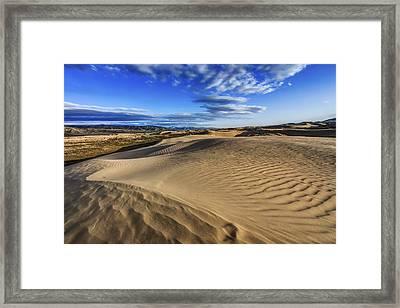 Desert Texture Framed Print