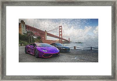 Desert To Bay Rally 2016 Framed Print