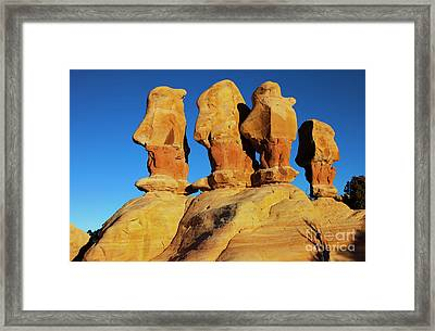 Desert Trolls Framed Print by Mike Dawson