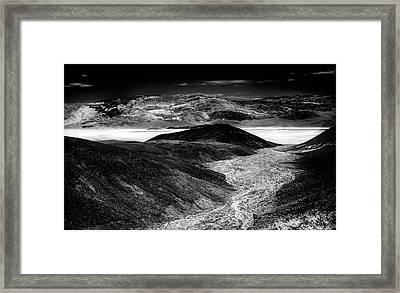 94007 Desert Twilight Framed Print