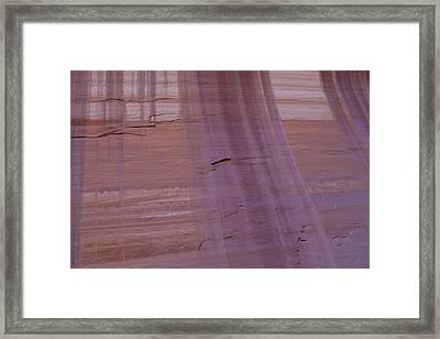 Framed Print featuring the photograph Desert Varnish by Deborah Hughes