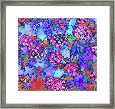 Desert Vibe Bloom Framed Print