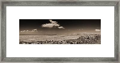 Desert View - Northern Arizona Framed Print by Bob Coates