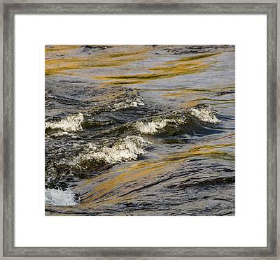 Desert Waves Framed Print