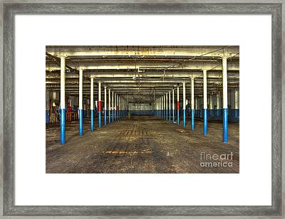 Deserted After Cotton Was King The Mary Leila Cotton Mill 1899 Framed Print by Reid Callaway