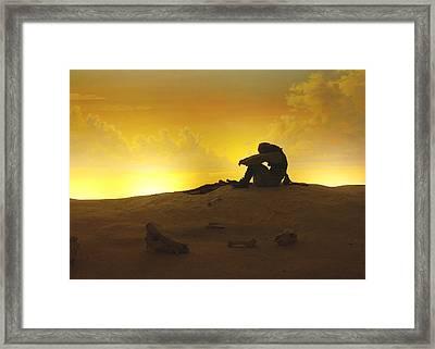 Deserted Framed Print by Dwayne  Graham
