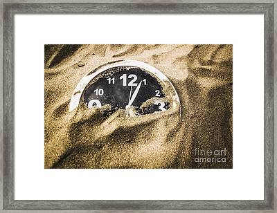 Deserted In Time Framed Print by Jorgo Photography - Wall Art Gallery