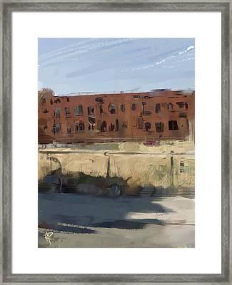 Deserted Framed Print by Russell Pierce