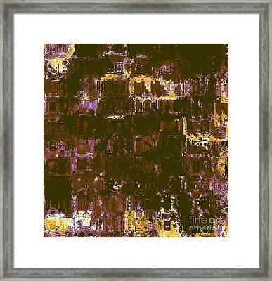 Design - Unknown Destination Framed Print by Fania Simon