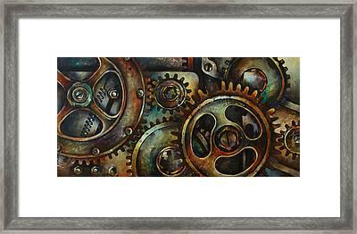 Design 2 Framed Print by Michael Lang