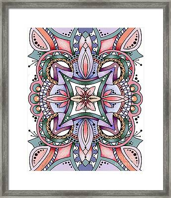 Design 217 E Framed Print