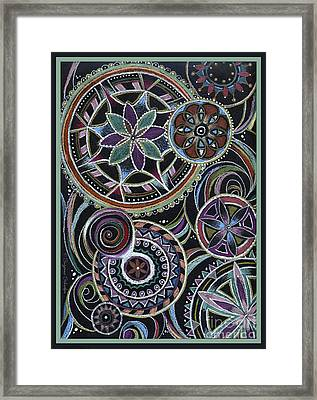 Design 217 F Framed Print