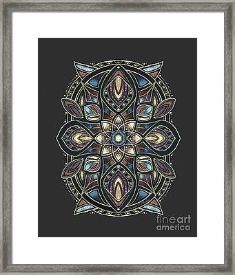 Design 222 A Framed Print