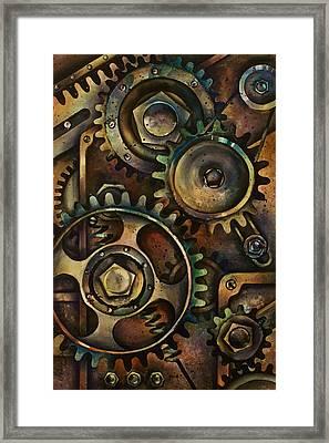 Design 3 Framed Print by Michael Lang