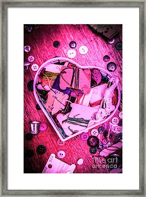 Designer Love Framed Print