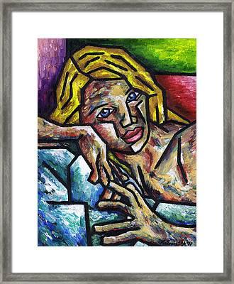 Desire Framed Print by Kamil Swiatek