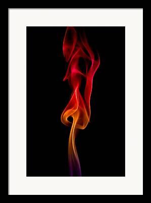 Incense Sticks Framed Prints