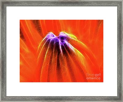 Desire Framed Print by Wingsdomain Art and Photography