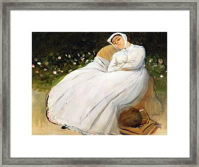 Desiree Musson Framed Print by Edgar Degas
