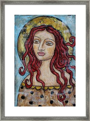 Desiree Framed Print by Rain Ririn