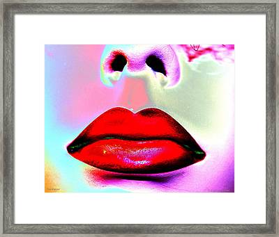 Desireuse Framed Print