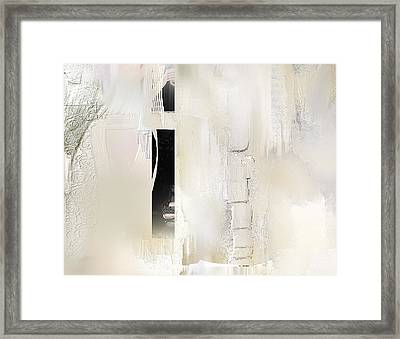 Desiring Dimension Framed Print