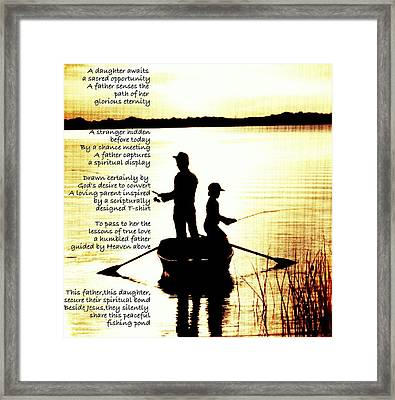 Father To Father To Child Framed Print